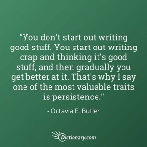 quote about writing from dictionary.com