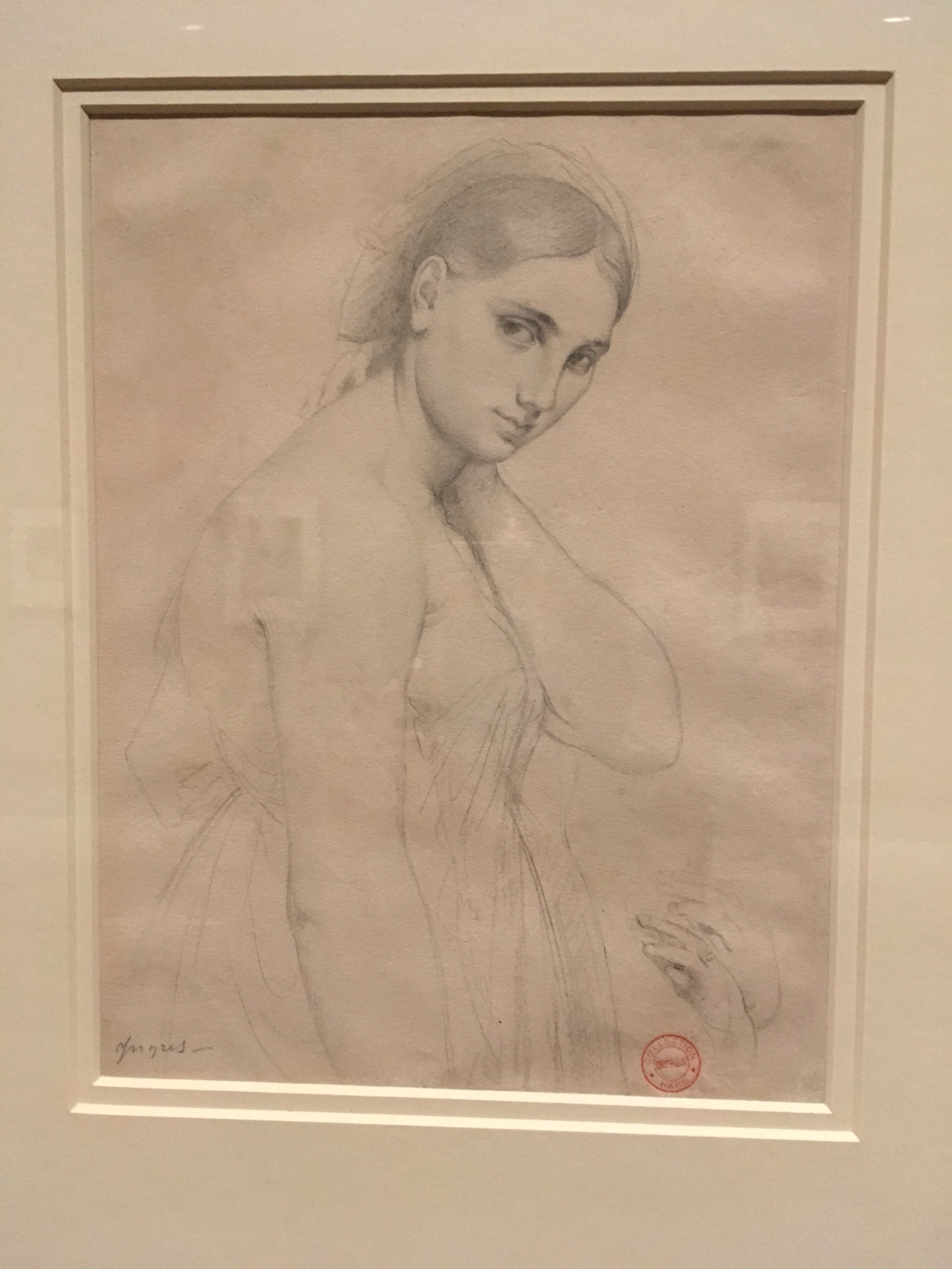 Art Museum Female Form Painting Replaced With What